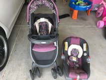 Grado Click-N-Go Stroller set in Lackland AFB, Texas