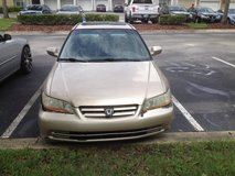 2002 Honda Accord EX in Jacksonville, Florida