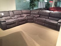 SALE! BRAND NEW! QUALITY UPSCALE SUEDE SOFA SECTIONAL RECLINER SET! in Camp Pendleton, California