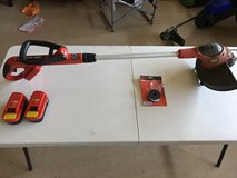 Weedeater Black and Decker, battery operated in Fort Campbell, Kentucky