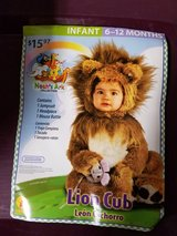 Lion cub Halloween costume size 6-12 months in Fort Drum, New York
