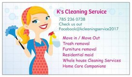 k's cleaning local in Salina, Kansas