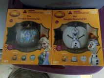 NEW Olaf and Elsa pumpkin kits in Fort Drum, New York