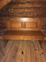 Storage Bench - All Wood - Medium Maple in Wilmington, North Carolina