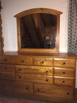 Dresser w/ Mirror by Bassett Furniture - One Owner in Wilmington, North Carolina
