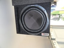 """12"""" Sony Subwoofer w/vented Box, Dual Voice Coil in Fort Rucker, Alabama"""