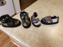 toddler boys slippers size 7-8 in Fort Drum, New York