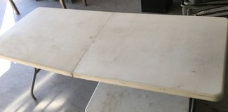 6 Ft x 2.5 Ft Foldable Table in 29 Palms, California