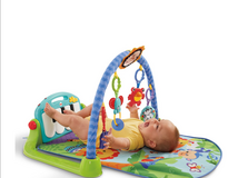 Fisher-price kick and play piano in Lockport, Illinois
