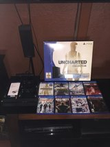 HUGE PS4 500 GB BUNDLE LIKE NEW CONDITION in Converse, Texas