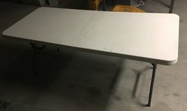 6 Ft x 2.5 Ft Foldable Table #2 in 29 Palms, California