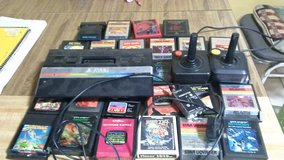 atari with 28 games 2controlers Nd needed hardware in Elizabethtown, Kentucky