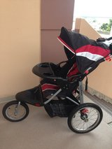Baby Trend Jogging Stroller PLUS Junior Rider Seat for 2nd child! in Okinawa, Japan