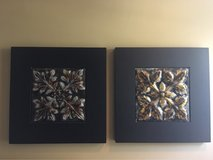 set of 2 framed art pieces in Naperville, Illinois