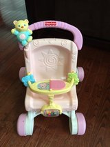 Baby doll stroller/walker in Yorkville, Illinois