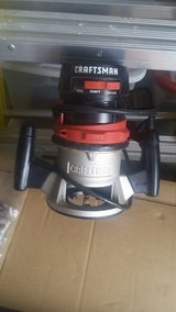 Craftsman Router - used in Baytown, Texas