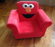 Baby/Toddler Sesame Street Elmo giggle sound upholstered chair (18 months to 5 year old) in Macon, Georgia