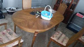 Dining room table in Oswego, Illinois