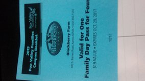 Blackberry Farm family pass for 4 in Naperville, Illinois