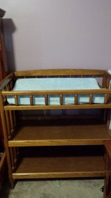 Changing table in Plainfield, Illinois