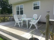 outdoor table and chairs in Camp Lejeune, North Carolina