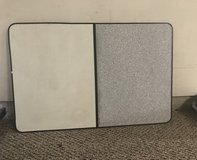 Dry Erase board with gray corks board in Spring, Texas