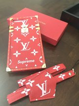 LV Supreme Inspired Leather case in Fairfield, California