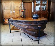 beautiful antique bellows coffee table in Baumholder, GE