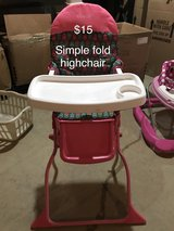 Cosco Simple Fold High Chair in Belleville, Illinois