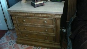 2 Over Size Large Night Stand /mustard brown color in El Paso, Texas