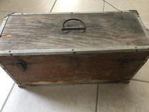 Antique tackle box in Yucca Valley, California