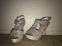 Sparkly heels in Vacaville, California