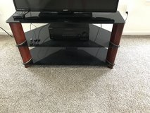Glass tv stand in Hinesville, Georgia