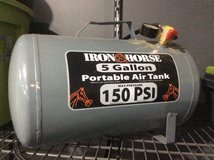 Portable air tank in Fort Campbell, Kentucky