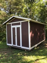 10x16 WIRED Storage Shed in Murfreesboro, Tennessee