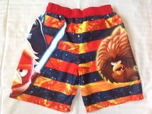 New w t Size6/7 Star Wars/angry birds swim shorts in Fort Carson, Colorado