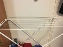 Clothes drying rack in Cambridge, UK