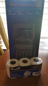 Casio portable printing calculator @ paper in Leesville, Louisiana