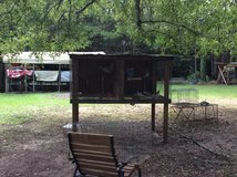 Big cage all treated wood and hardware wire in Fort Polk, Louisiana