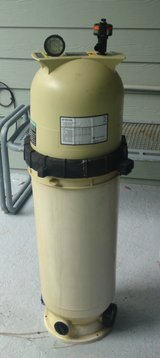 Pentair Clean and Clear Swimming Pool Tank and Filter for Inground Pool in Camp Lejeune, North Carolina