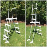 Intex Deluxe Pool Ladder in Lockport, Illinois