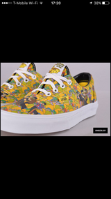 Exclusive Men's Yellow Submarine Limited Edition Beetles Vans Size 8 1/2 in Beaufort, South Carolina