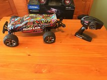 Traxxas rustler with brushless castle creation motor RC Car in Clarksville, Tennessee