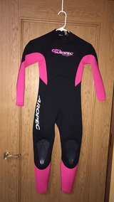 Girls Wet Suit in Okinawa, Japan