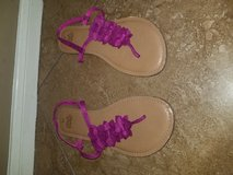 Ladies mauve sandals in Kingwood, Texas