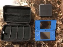 Blue DSI with case, and 4 games for young children in Okinawa, Japan