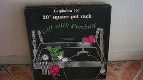 "Brand New Overhead  20"" square Pot and pans Rack in El Paso, Texas"