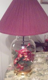 2 Matching Floral Lamps in Beaufort, South Carolina