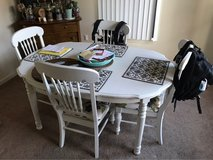 Solid Wood Table & 4 Chairs in Alamogordo, New Mexico