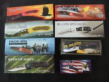 Wholesale Lot Frost Cutlery Knives (8) New in Boxes in Cherry Point, North Carolina